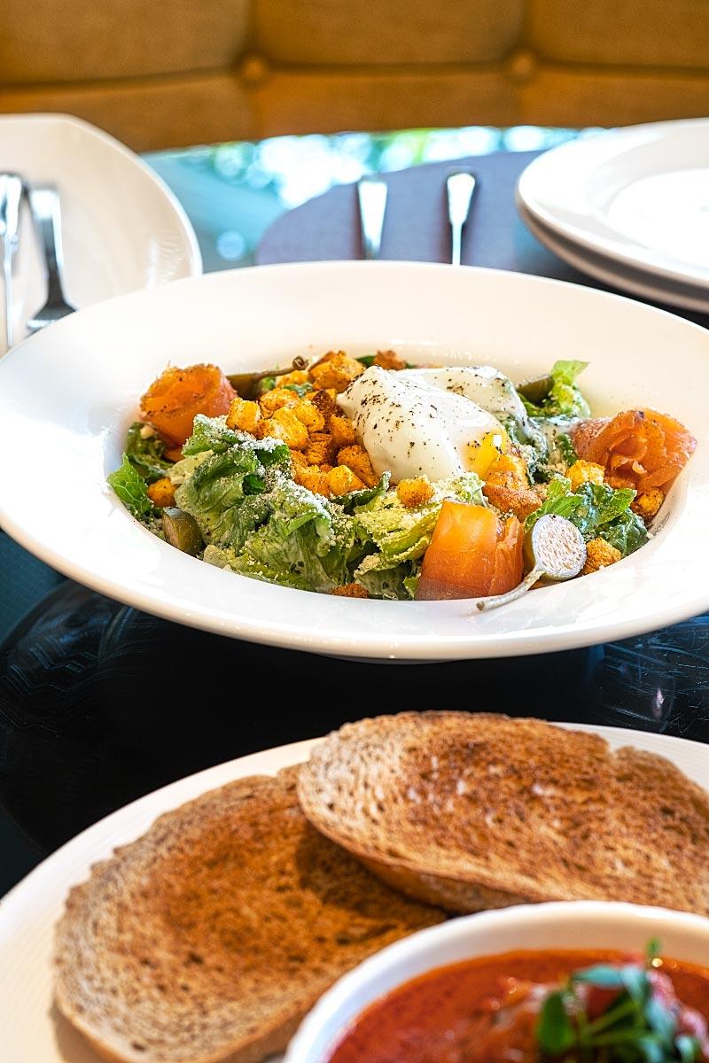 Brasserie 25 food