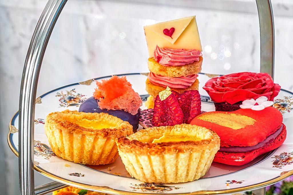 High tea sweets at Ritz Carlton KL