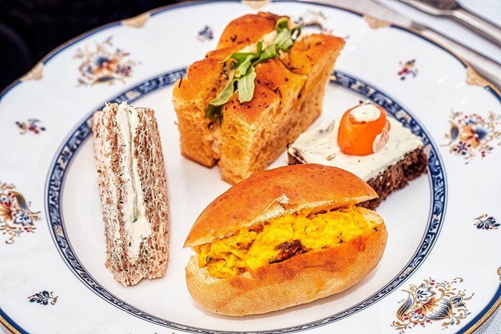 Ritz-Carlton KL afternoon tea sandwiches