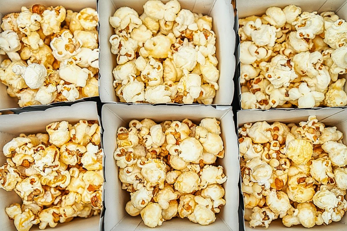 caramel butter popcorn