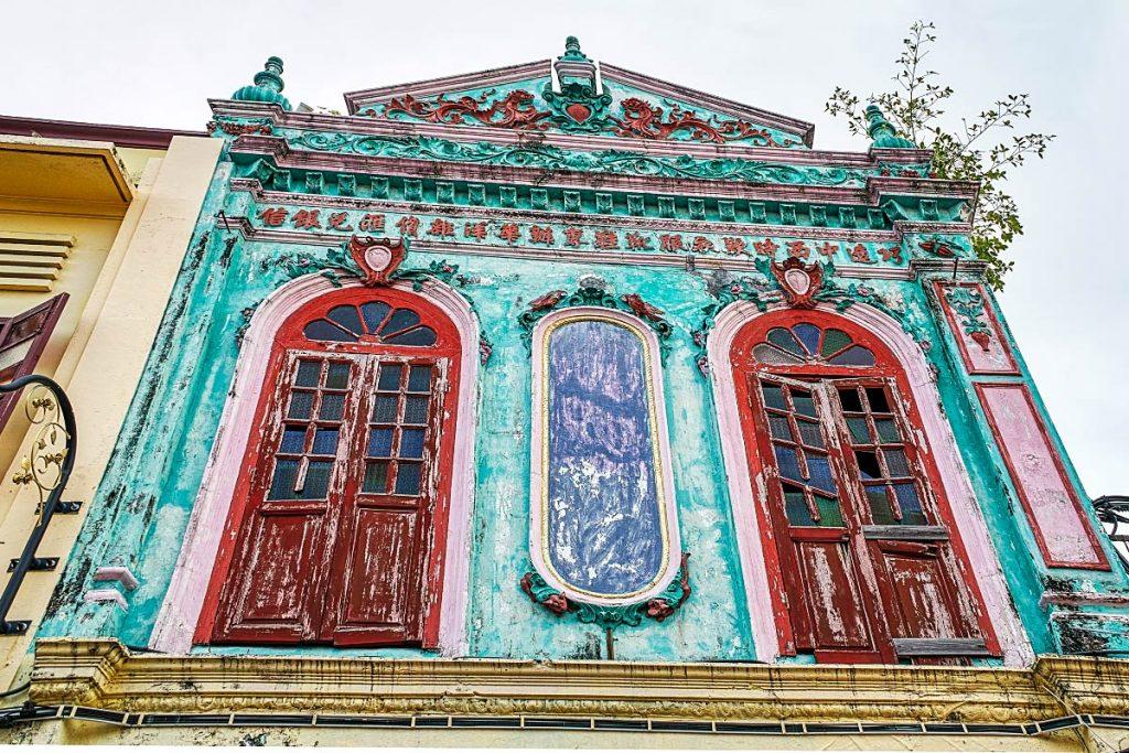 old Peranakan house