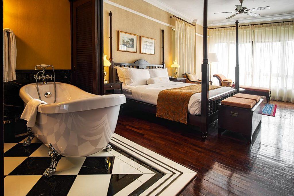 hotel room at Majestic Hotel Melaka