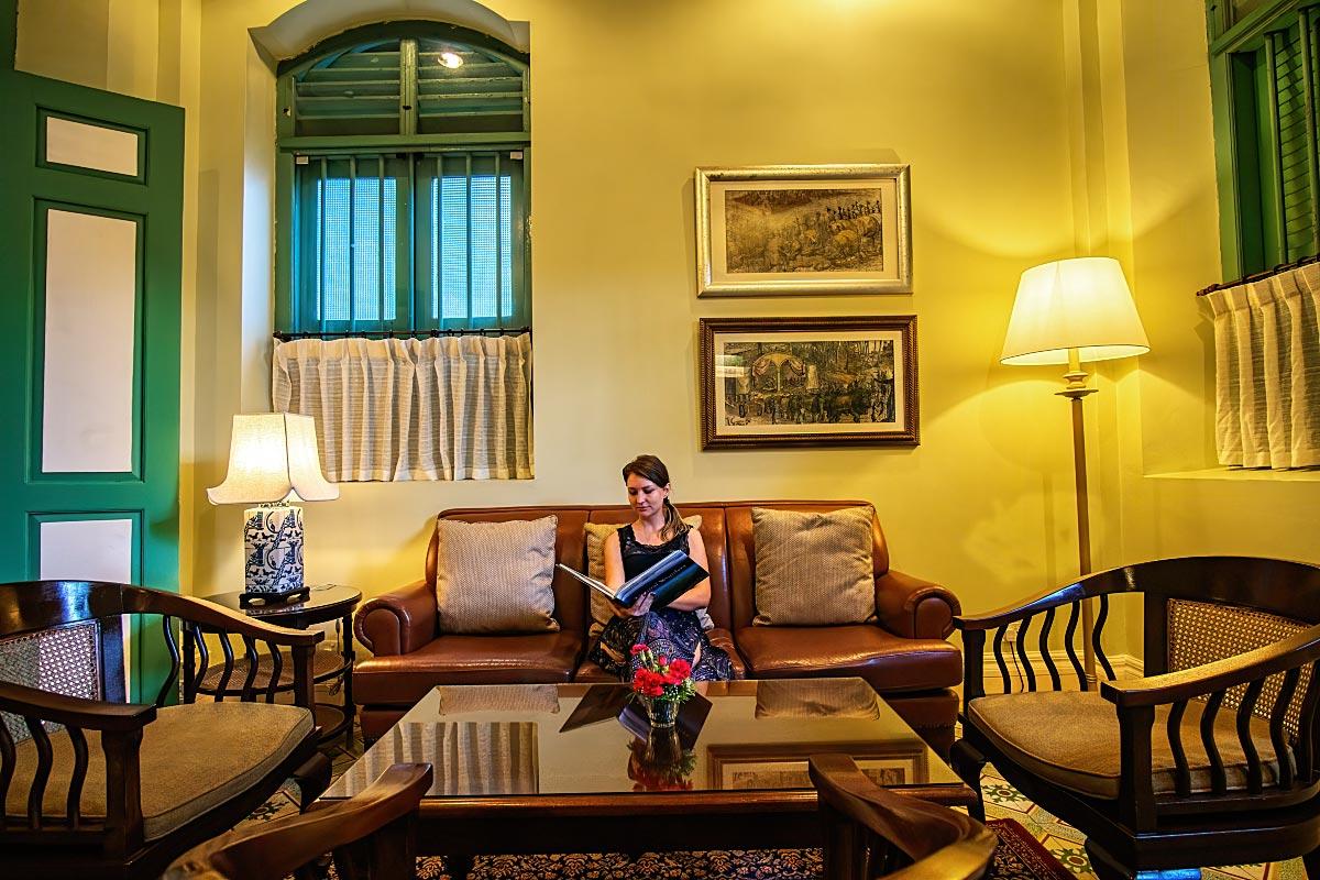 Melaka mansion library