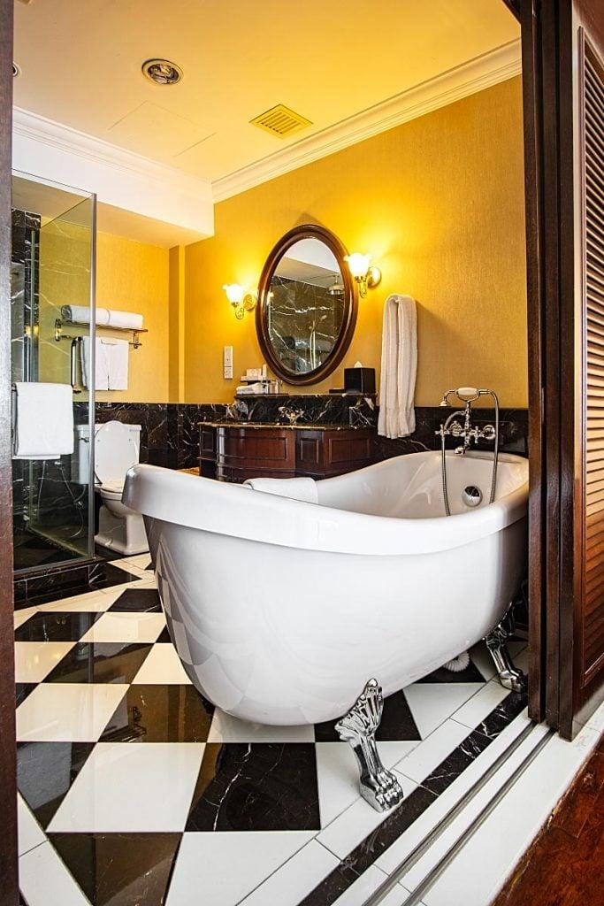 Bathroom at the Majestic Hotel Melaka