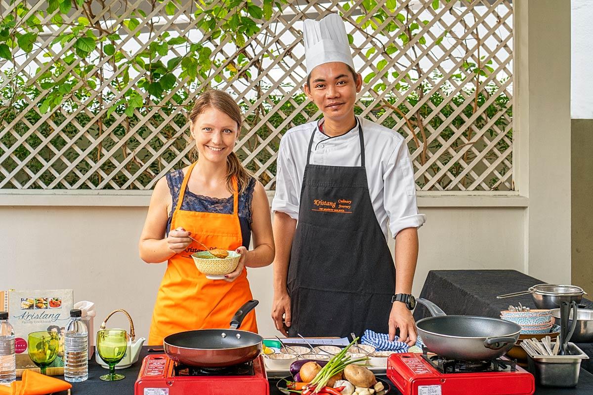 kristang cooking class in Melaka