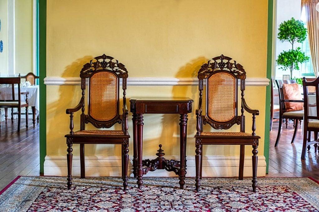 Furniture at Majestic Malacca Hotel