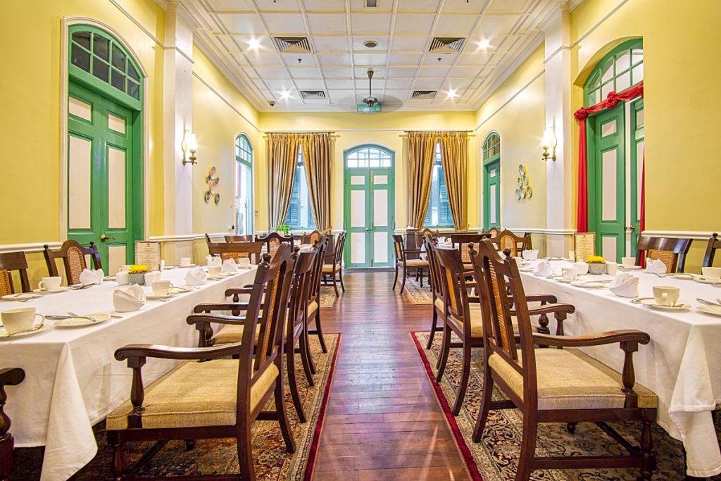 majestic Malacca dining room