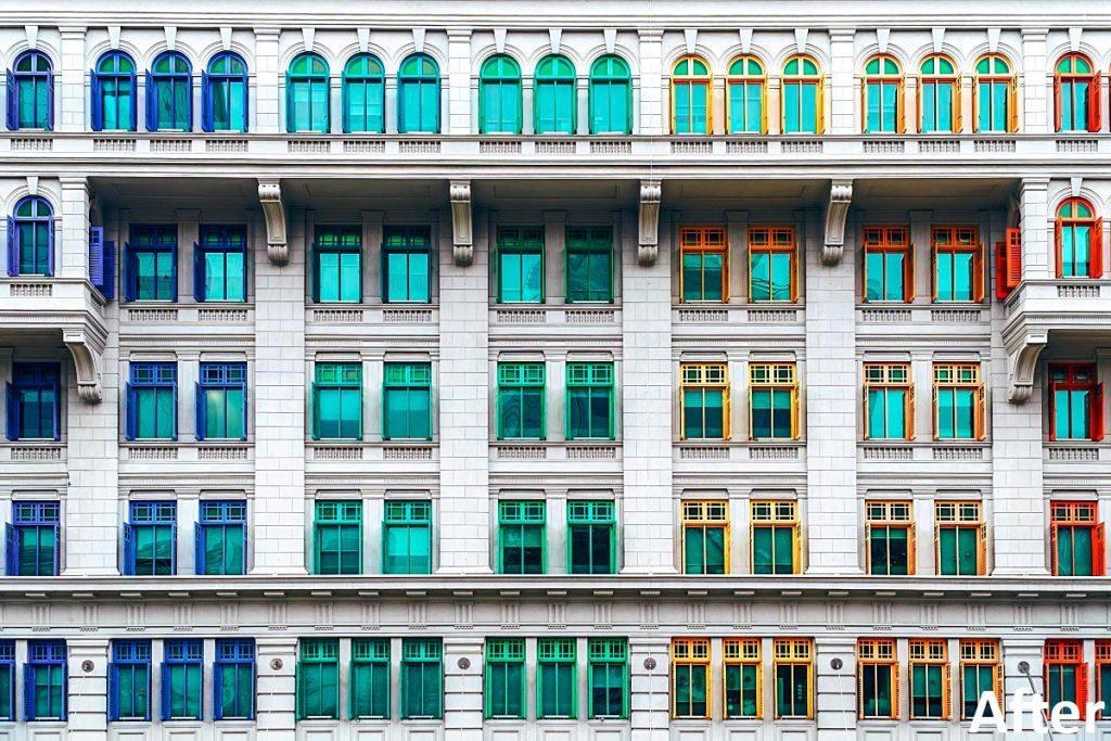 architecture photo aftercolor edit