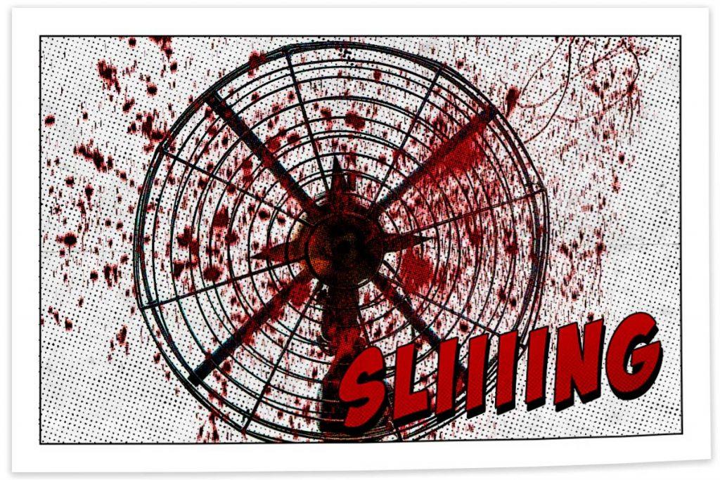 killer fan comic book