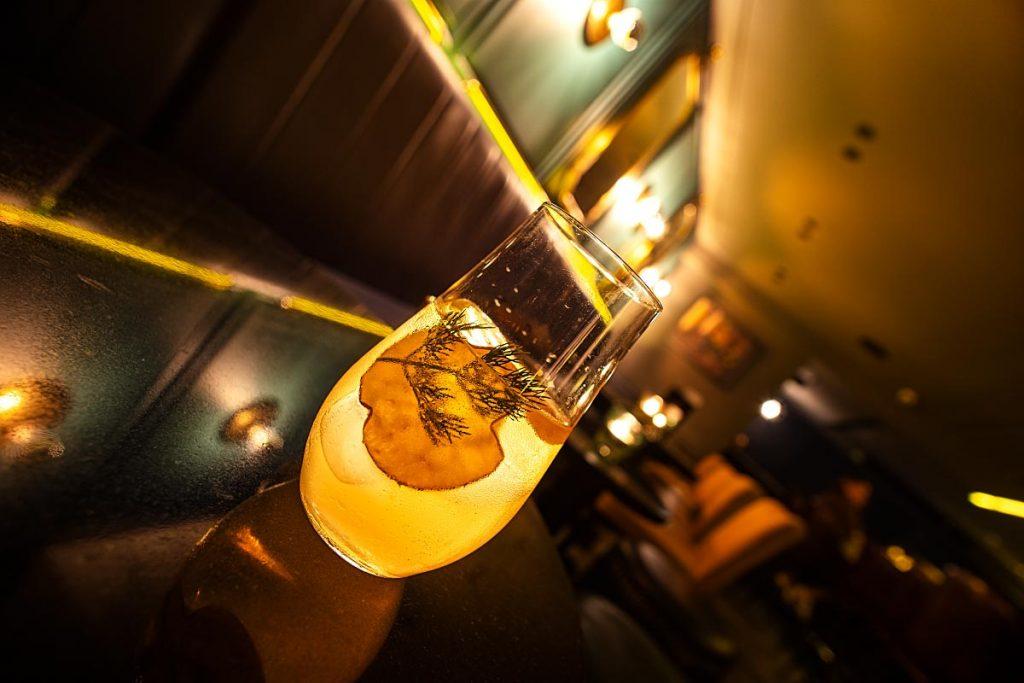 Caorunn Gin cocktail