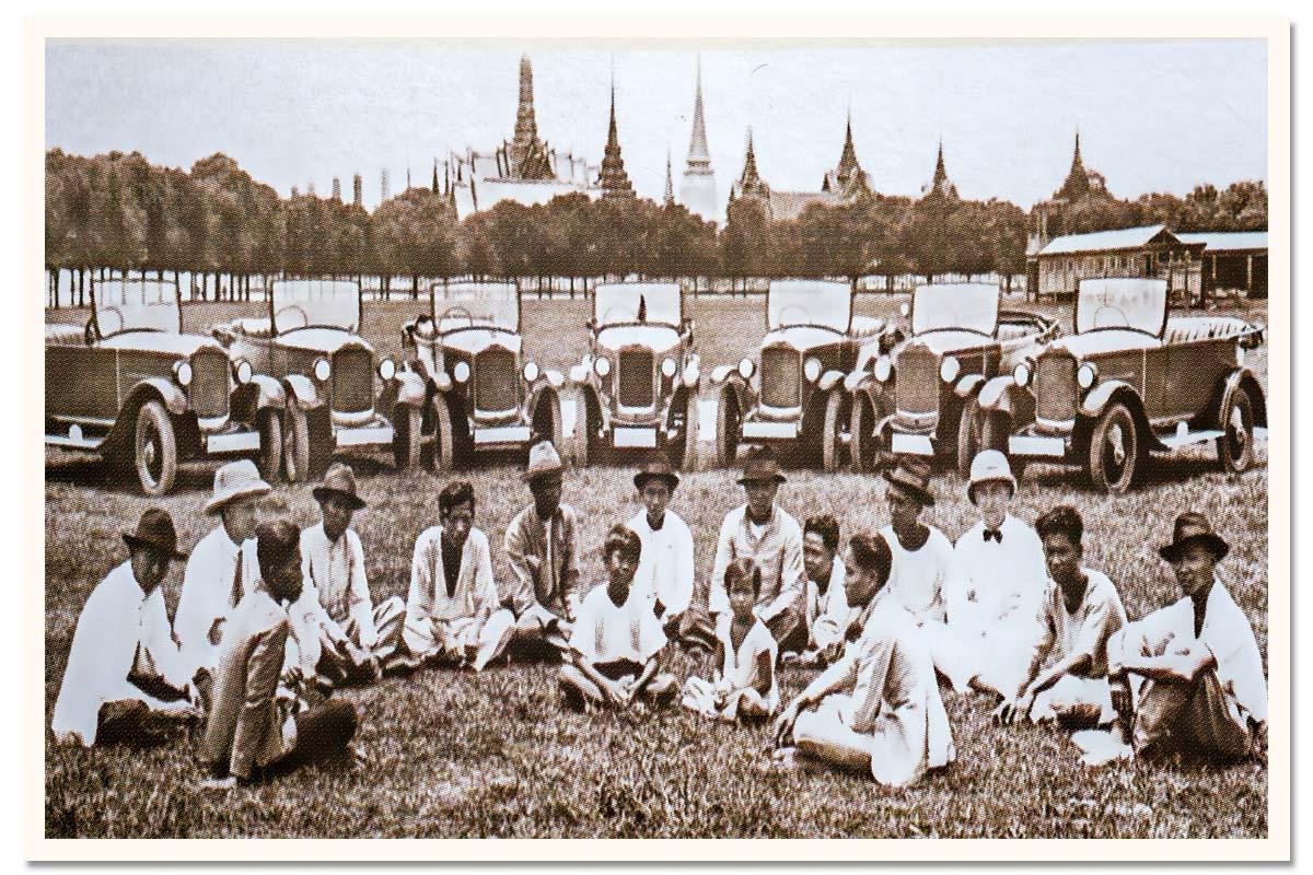 Members of the Bangkok Automobile Club (1903)