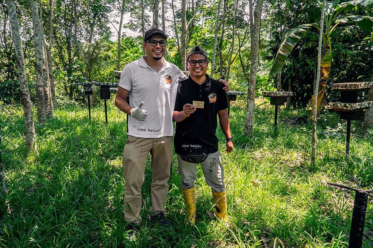 Dino Kelulut stingless bee farm