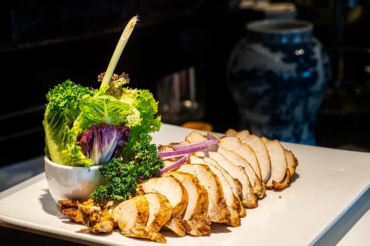 chicken lettuce