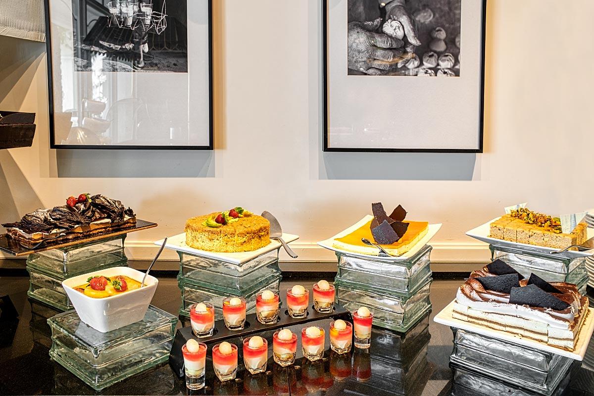 dessert buffet at sarkies restaurant