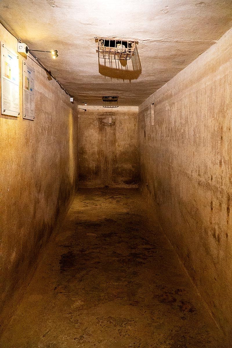 Metropole hanoi bomb shelter