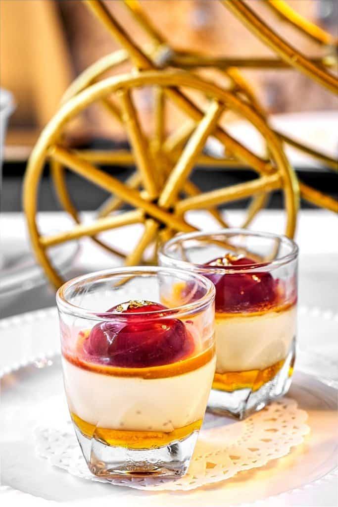Passion Fruit creme brulee