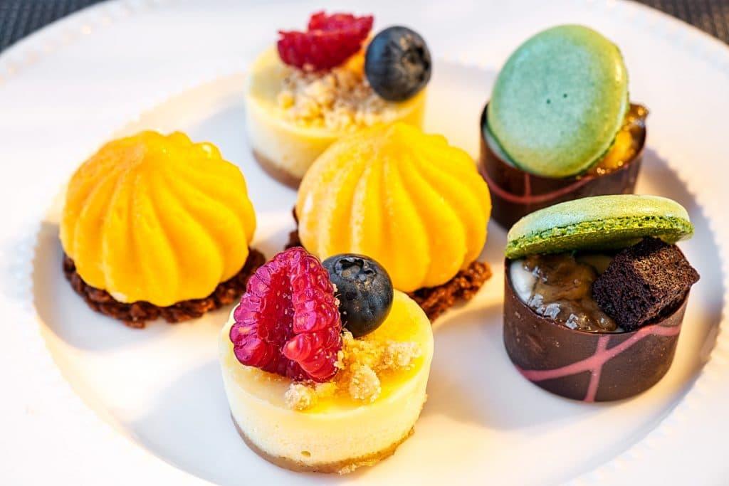 Farquhar Mansion high tea sweets