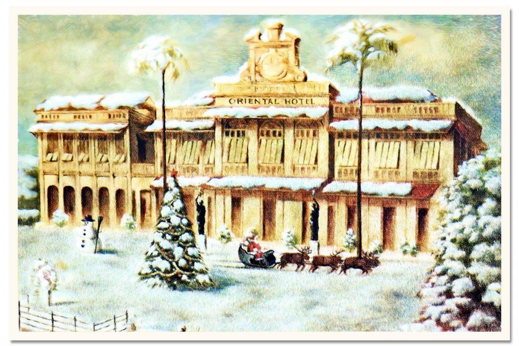 Oriental Bangkok Postcard: 1996 Christmas