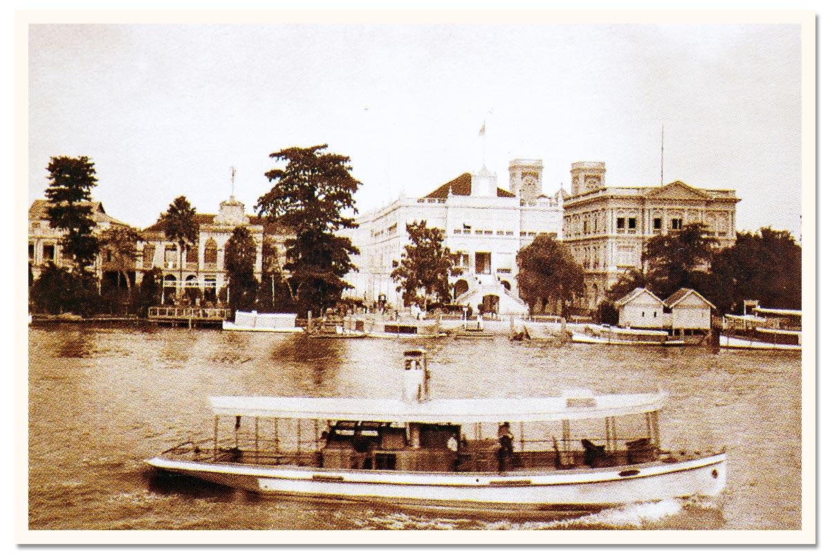 Oriental Bangkok Postcard 1930s