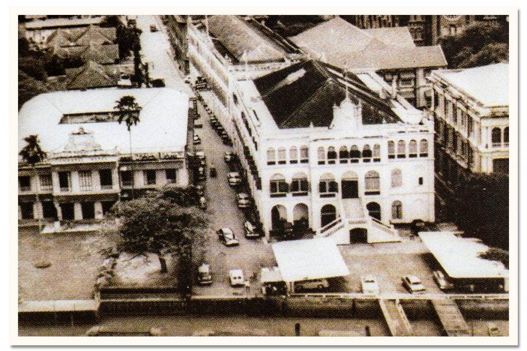 Oriental Bangkok Postcard 1955