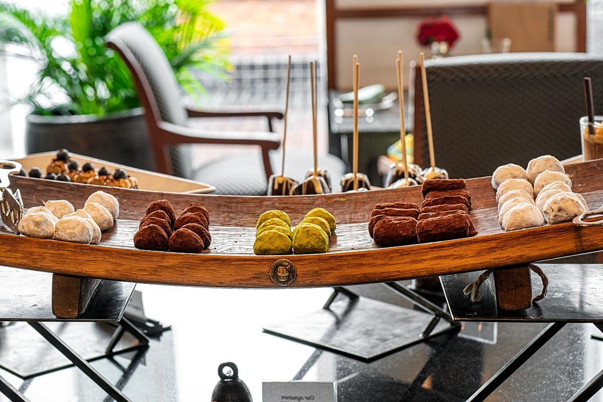 Sukhothai chocolate truffles