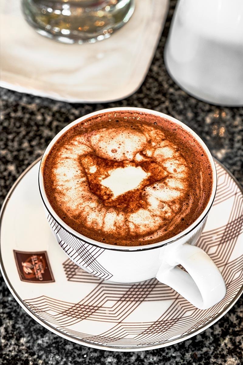 Sukhothai hot chocolate