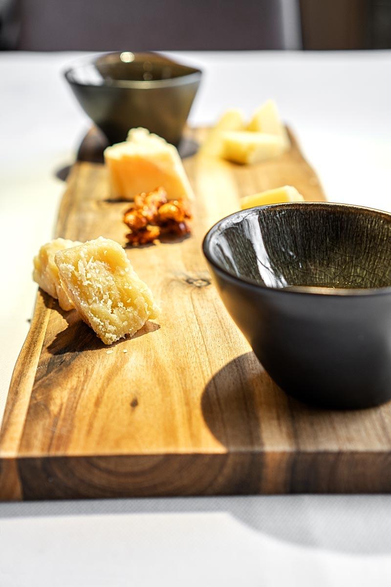 Hisa Franko cheese plate