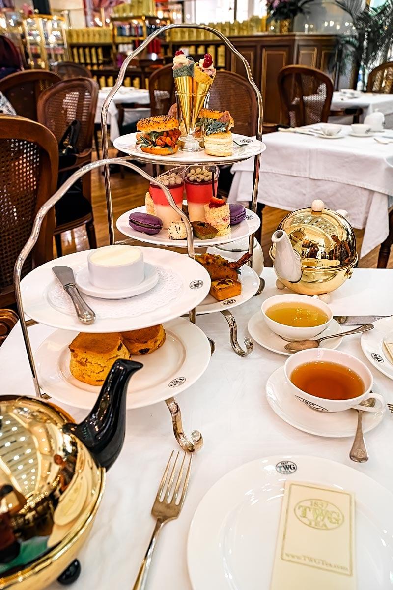 TWG Grand High Tea Set