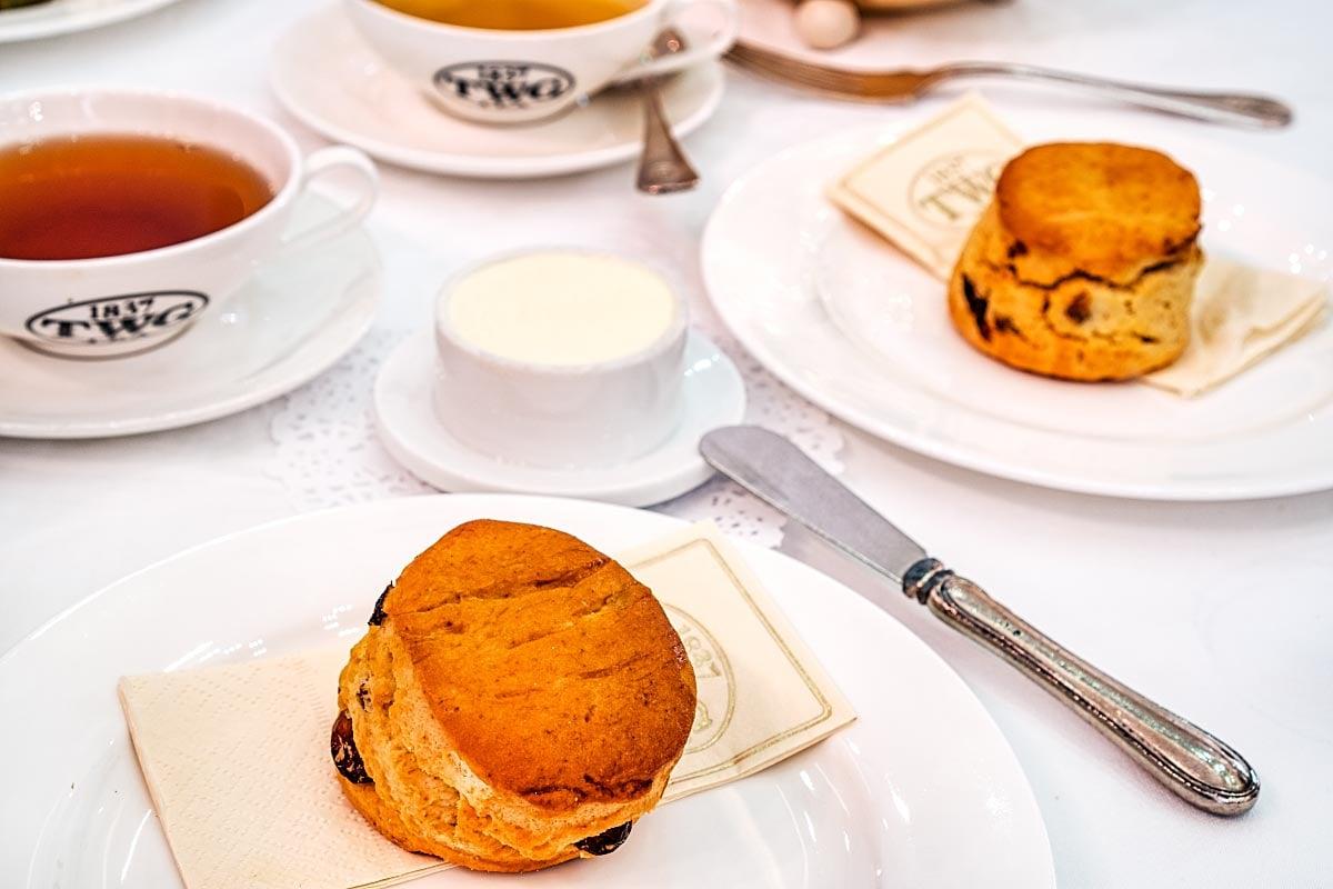 TWG Afternoon tea Scones