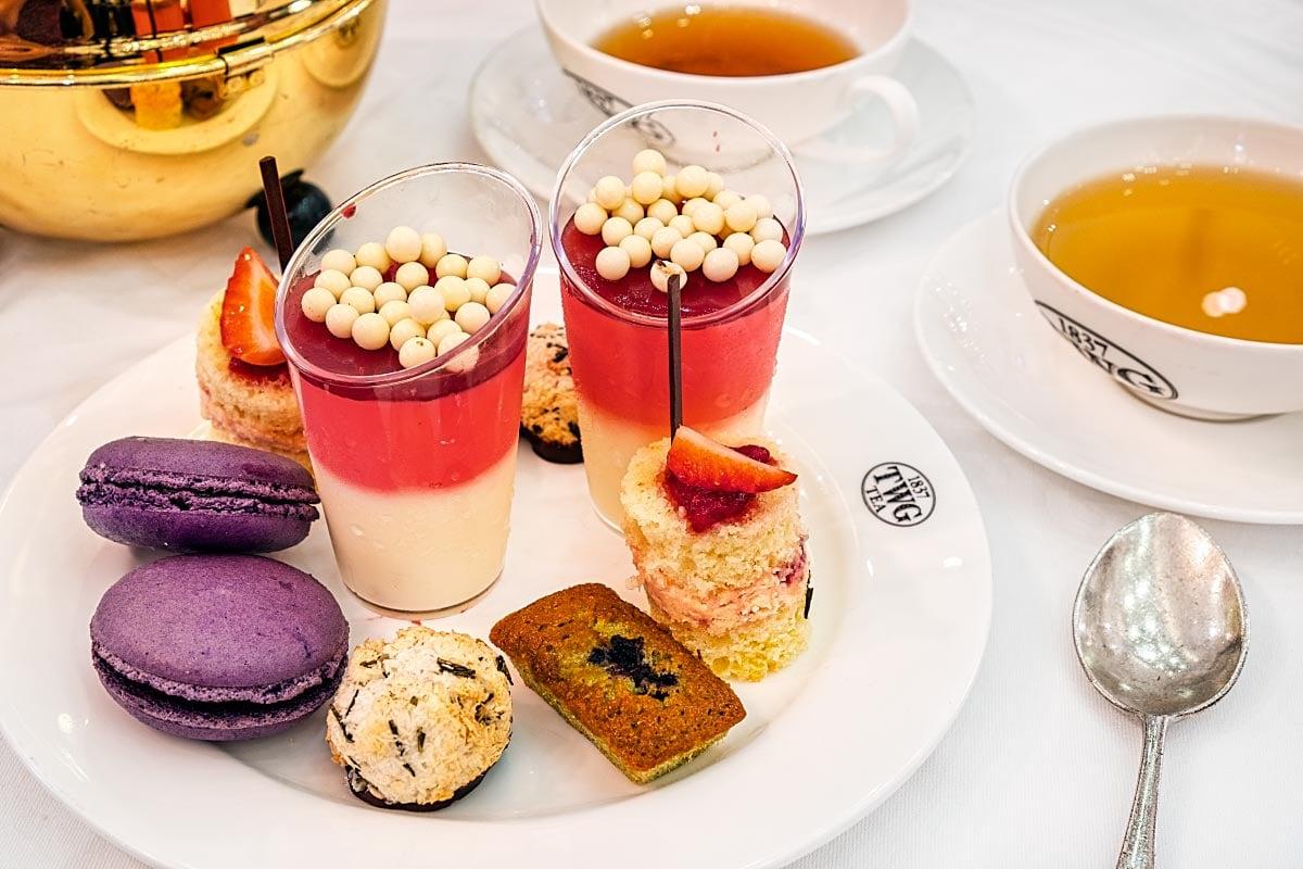 afternoon tea at TWG Pavilion