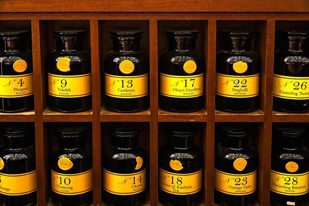 twg tea samples