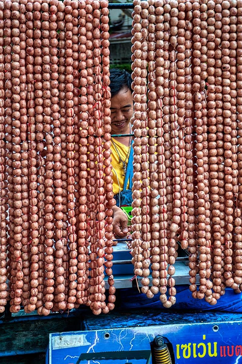 street food vendor Bangkok