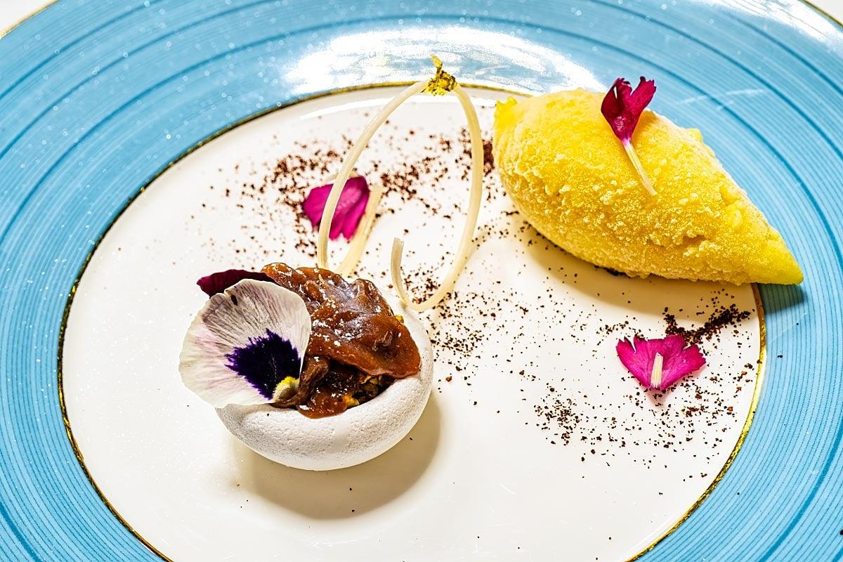 dessert at Tangerine Kuala Lumpur