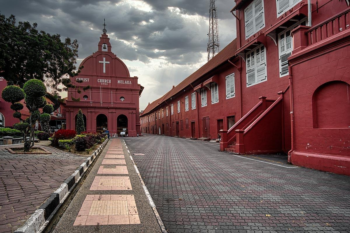 Melaka red square