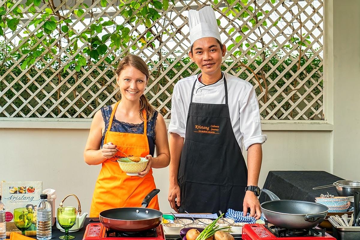 Kristang cooking school