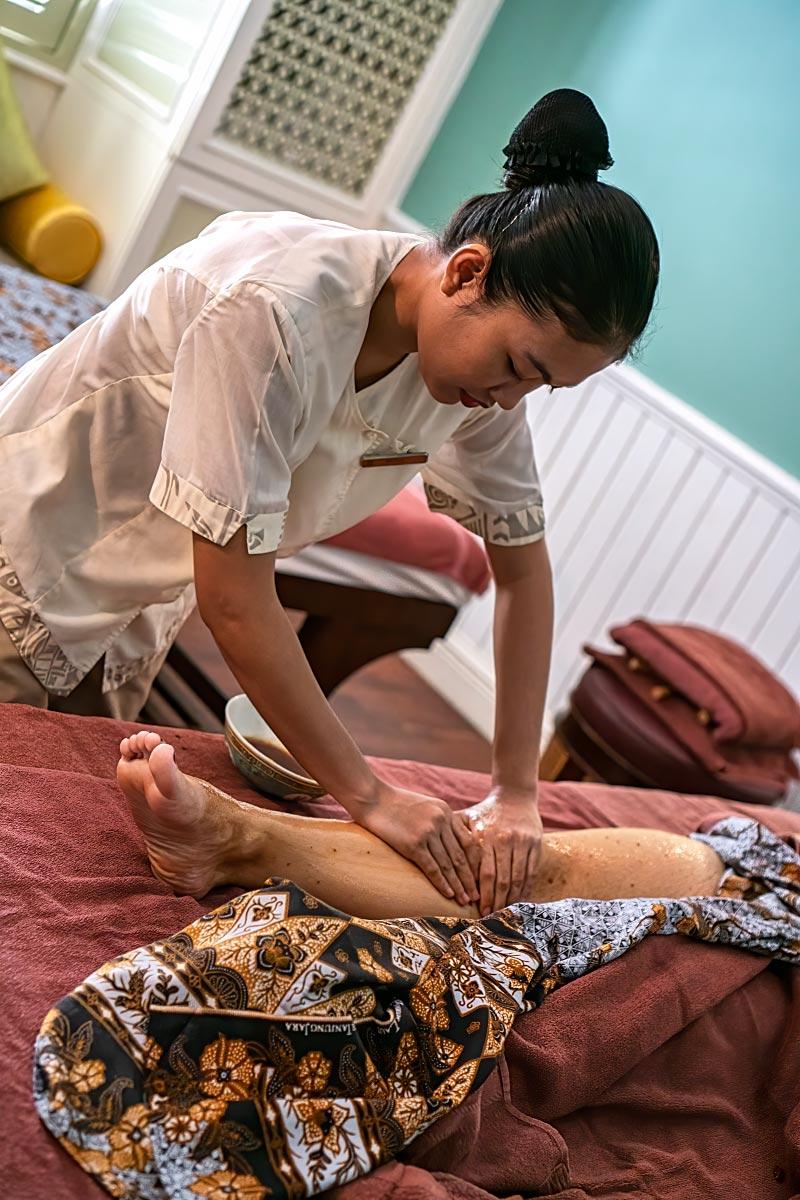 Peranakan Beauty treatment