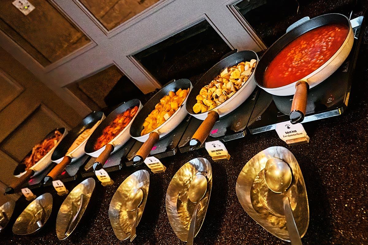 hotel muse self service breakfast