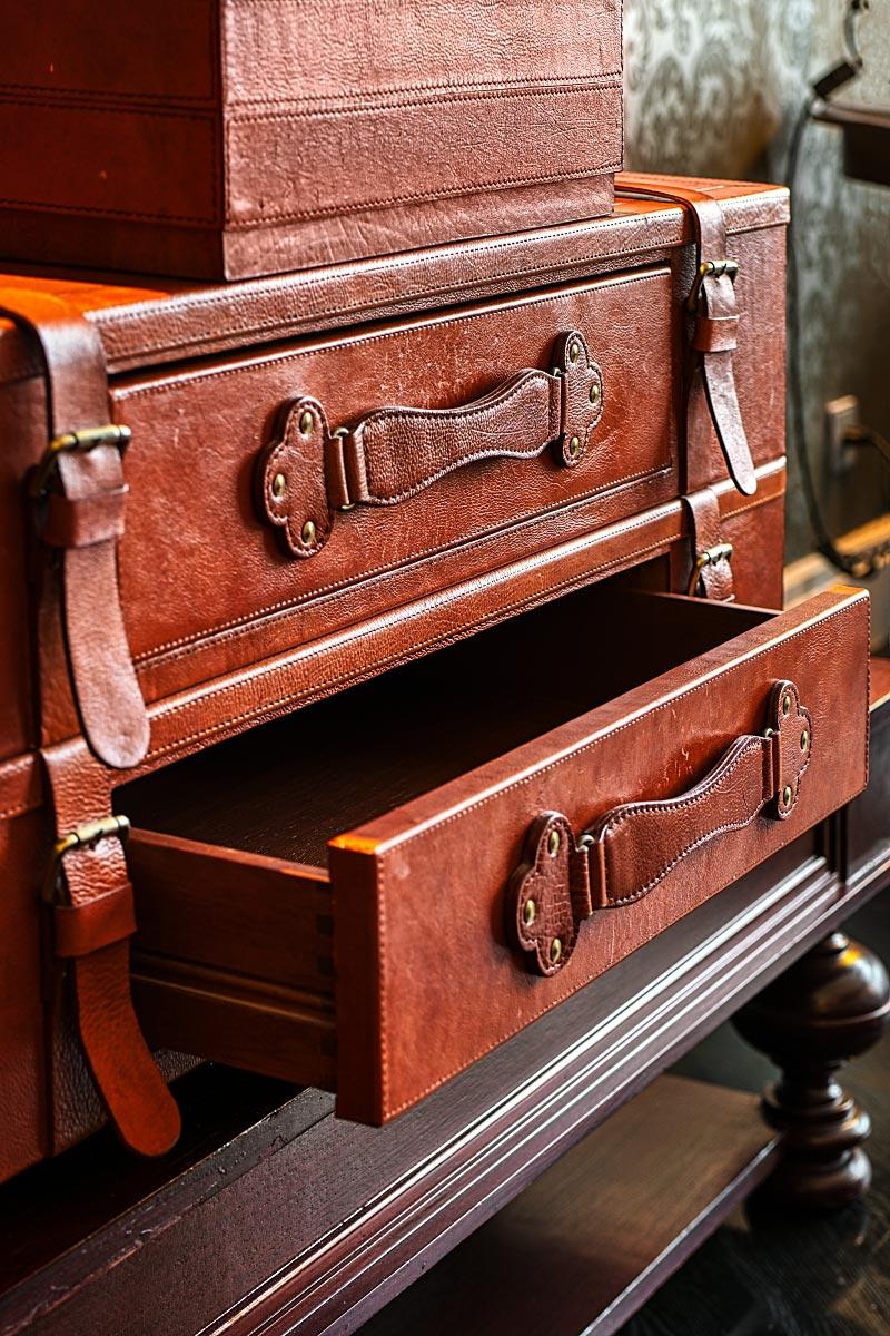 upcycled suitcase
