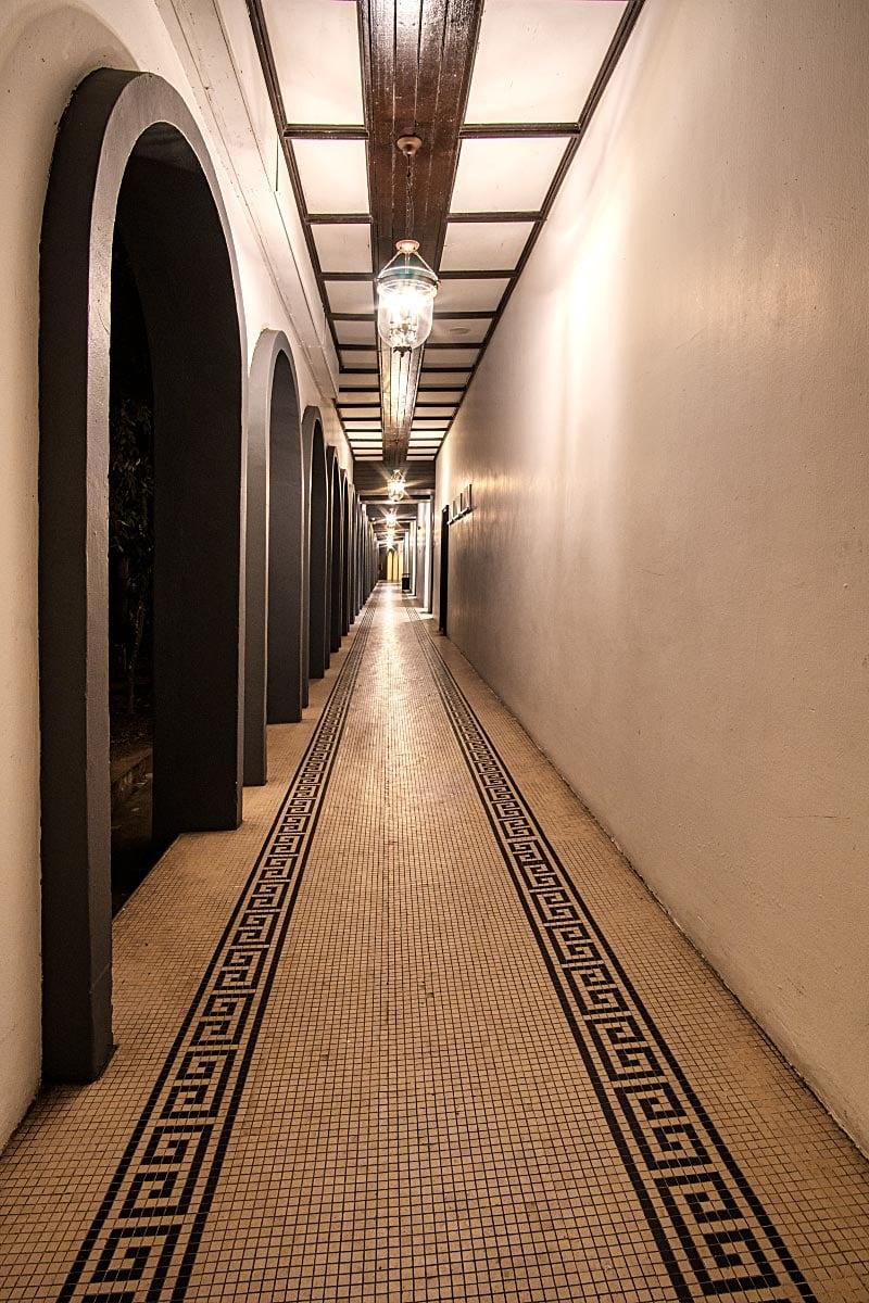 Cameron highlands resort hallway