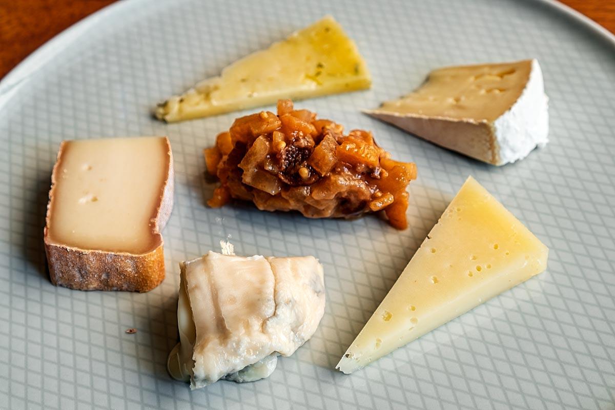 Atelje cheese platter
