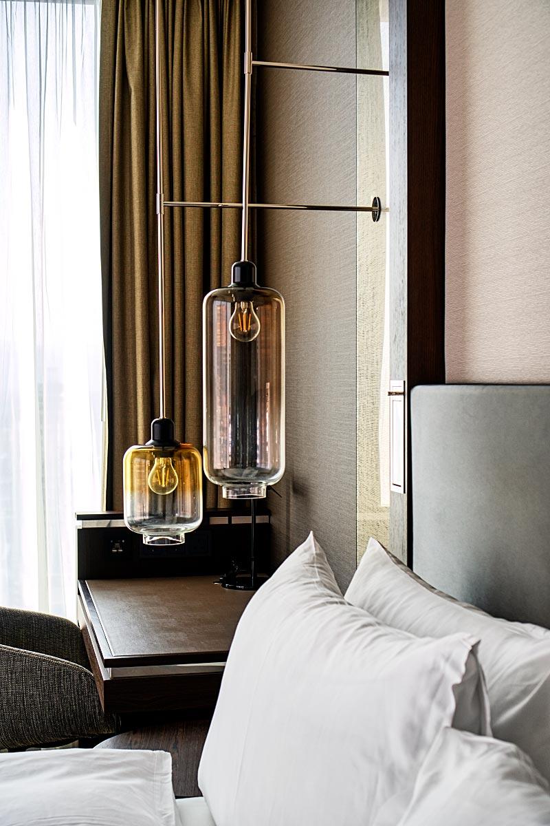 hotel room lights
