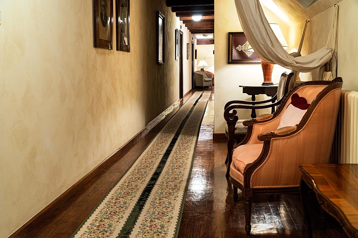 antique hallway