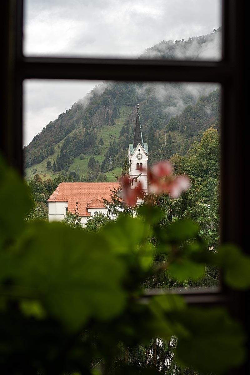 Slovenia pilgrimage church