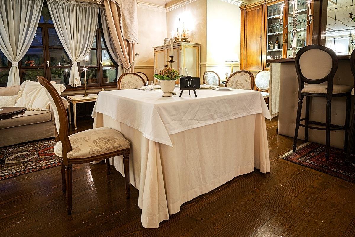 Kendov Dvorec cuisine