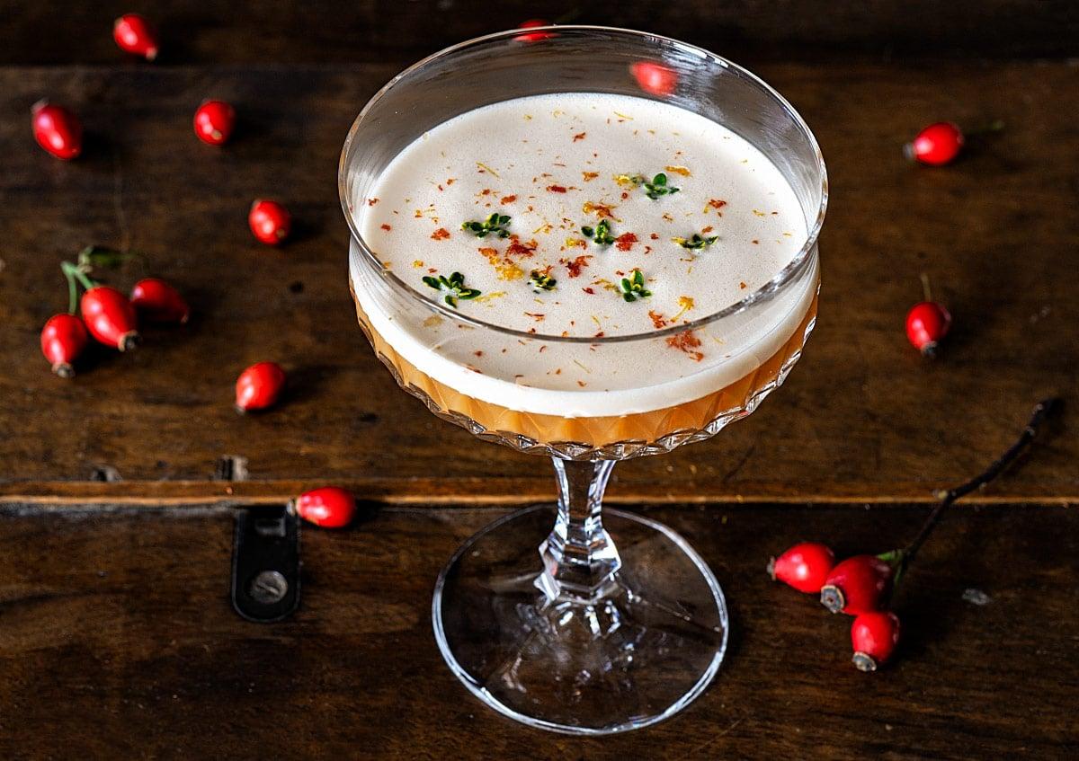 rose hip cocktail