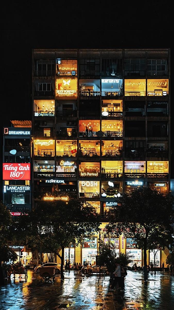 Saigon shops