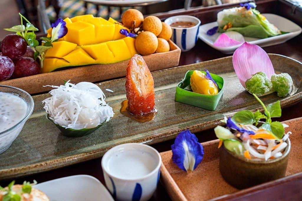 Raffles Khmer Tea Set