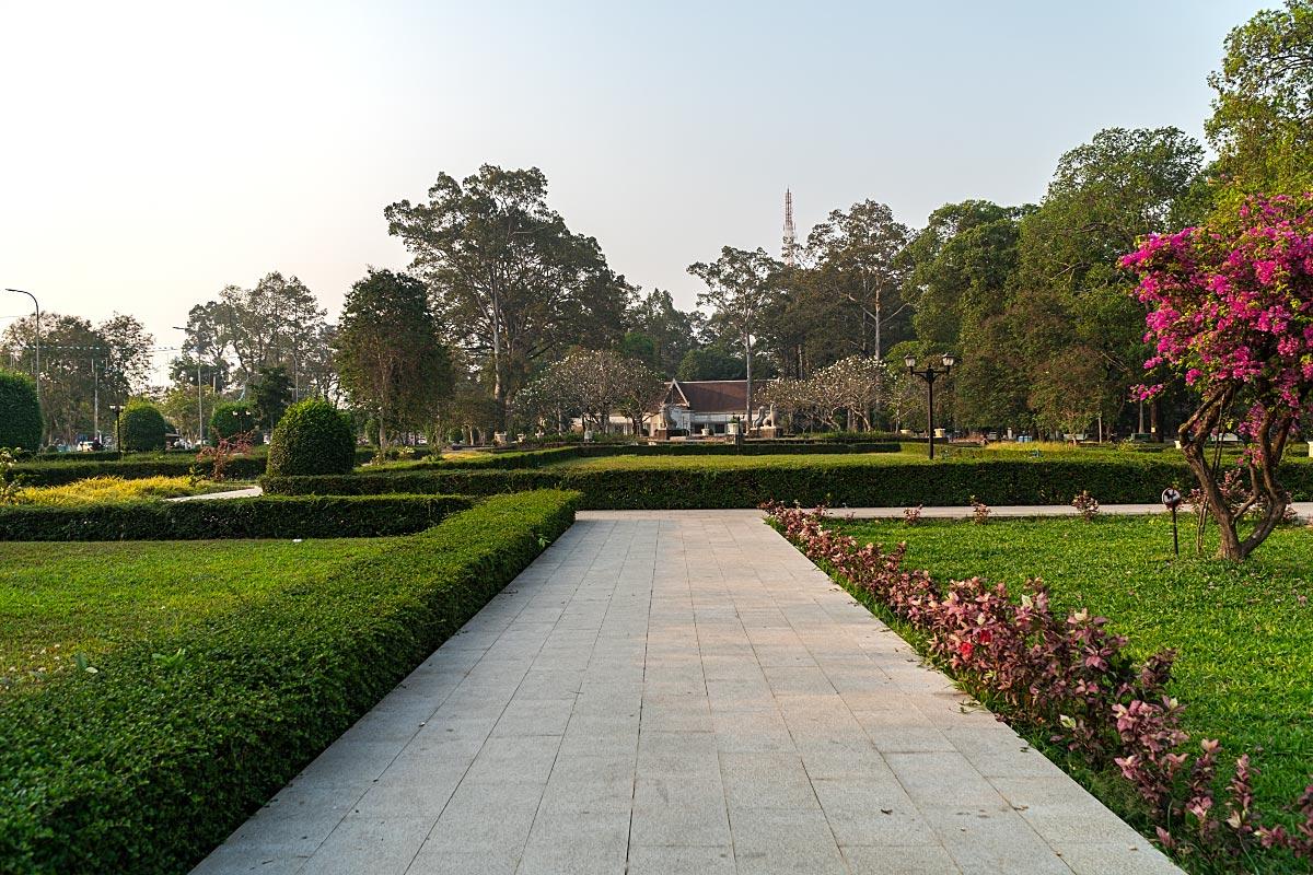 siem reap royal independence gardens