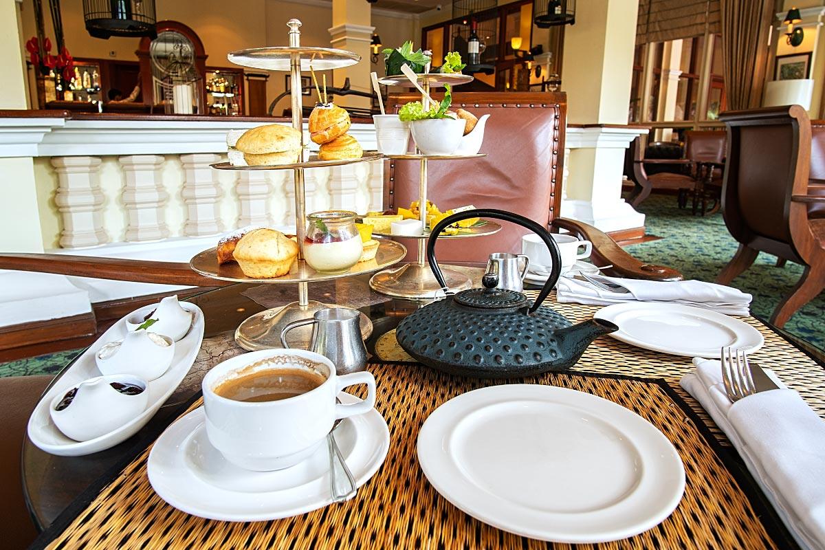 Sofitel Angkor afternoon tea