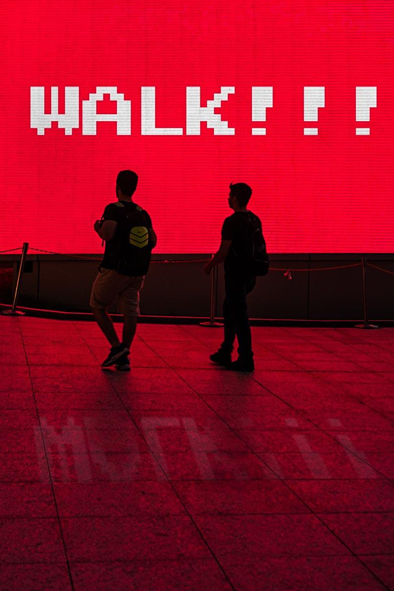 walking in Kuala Lumpur